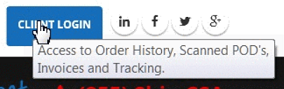 Access Order History, Scanned POD's, BOL's, Invoices and Track Shipments.